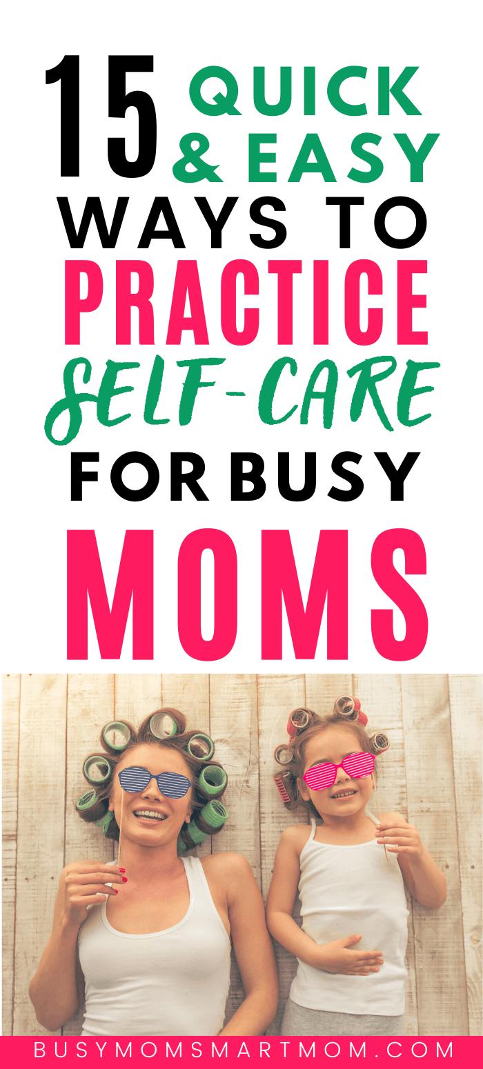 ways to practice self-care