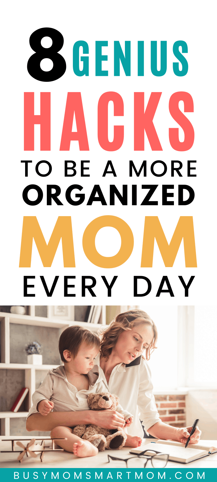 be a more organized mom