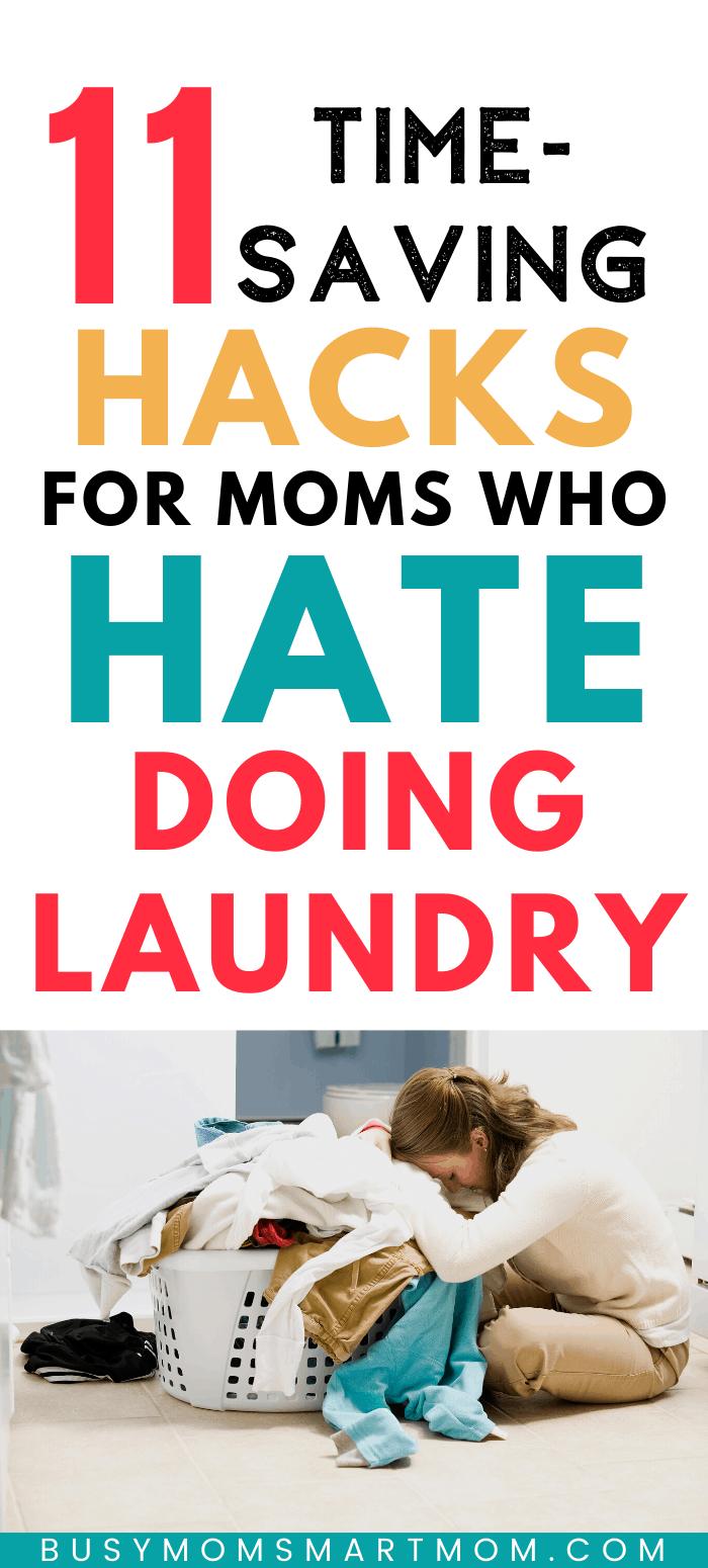 time-saving laundry hacks