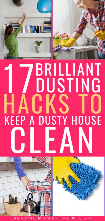 dusting hacks for a clean house