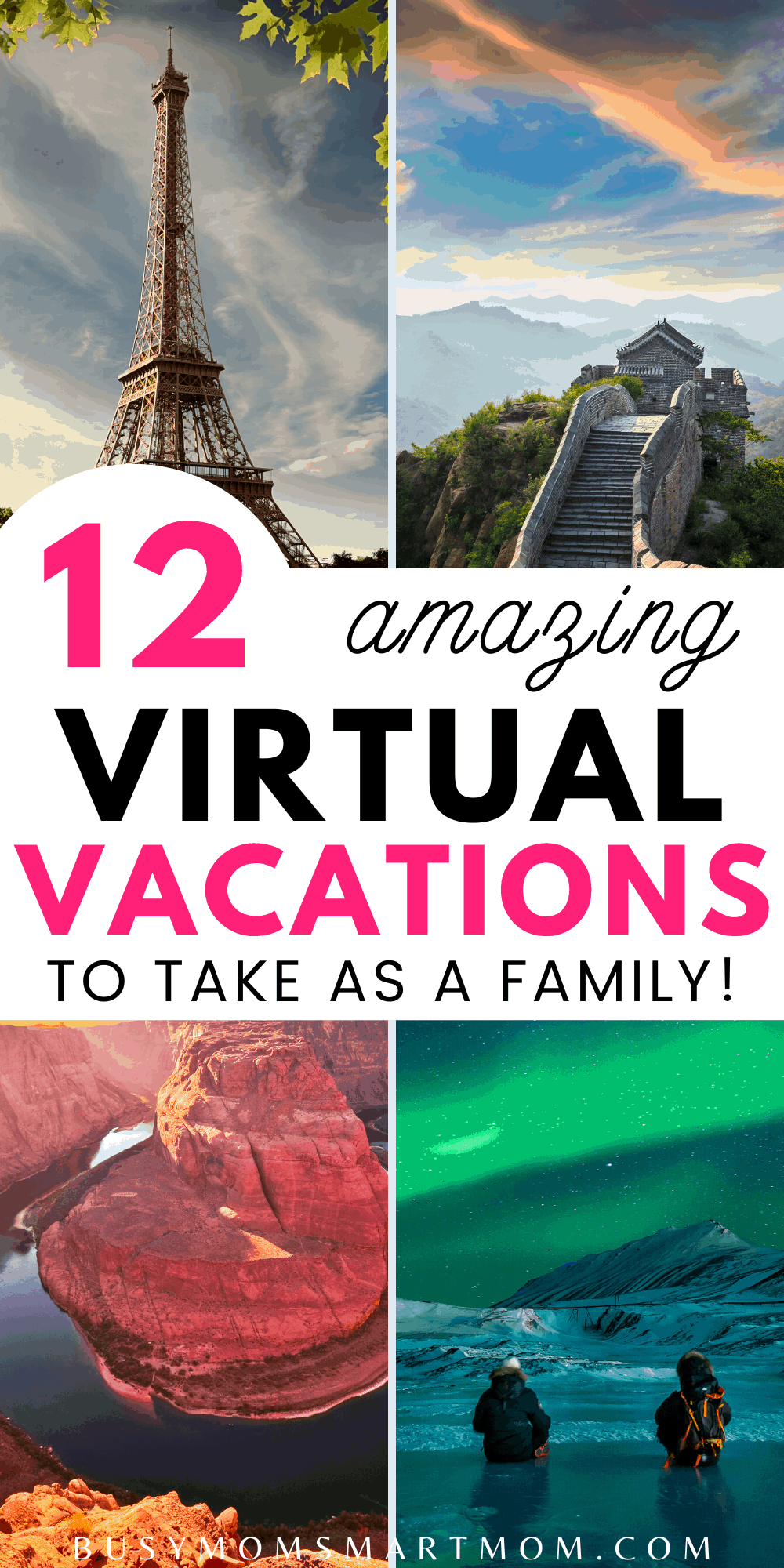 virtual vacations for families