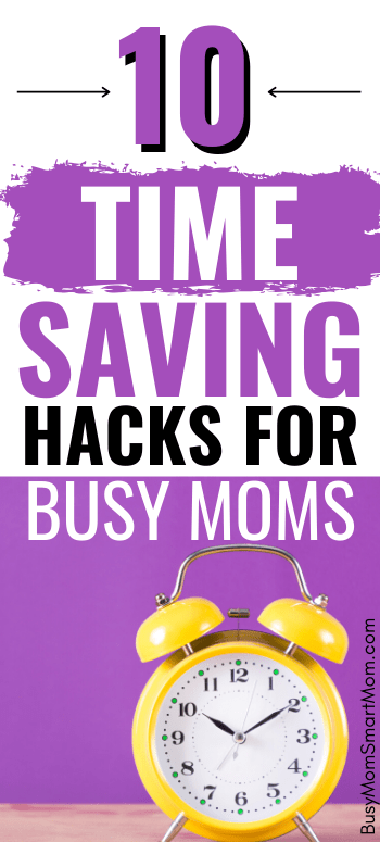 time-saving tips for busy moms