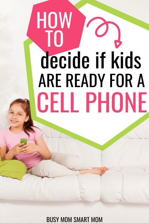 How to Decide If Kids Are Ready for a Cell Phone